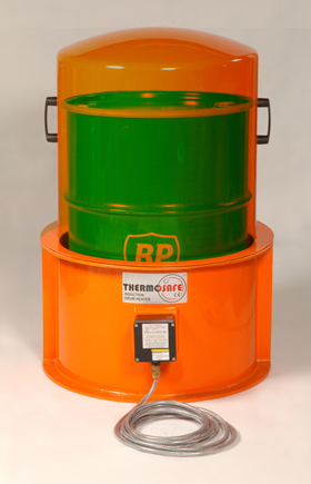 Cut-away picture of Rigid Top Hat with Type B mini drum oven